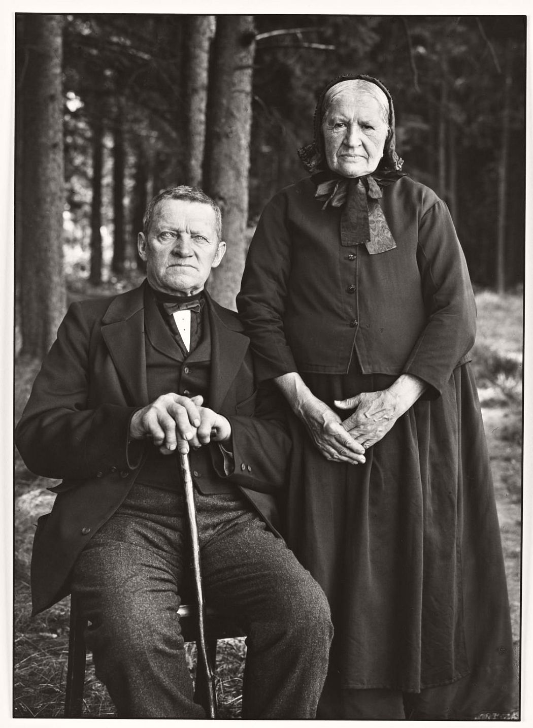 Farming Couple - Propriety and Harmony 1912, printed 1990 August Sander 1876-1964 ARTIST ROOMS  Tate and National Galleries of Scotland. Lent by Anthony d'Offay 2010 http://www.tate.org.uk/art/work/AL00011