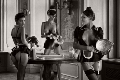 Biography: Nude Advertising photographer Szymon Brodziak