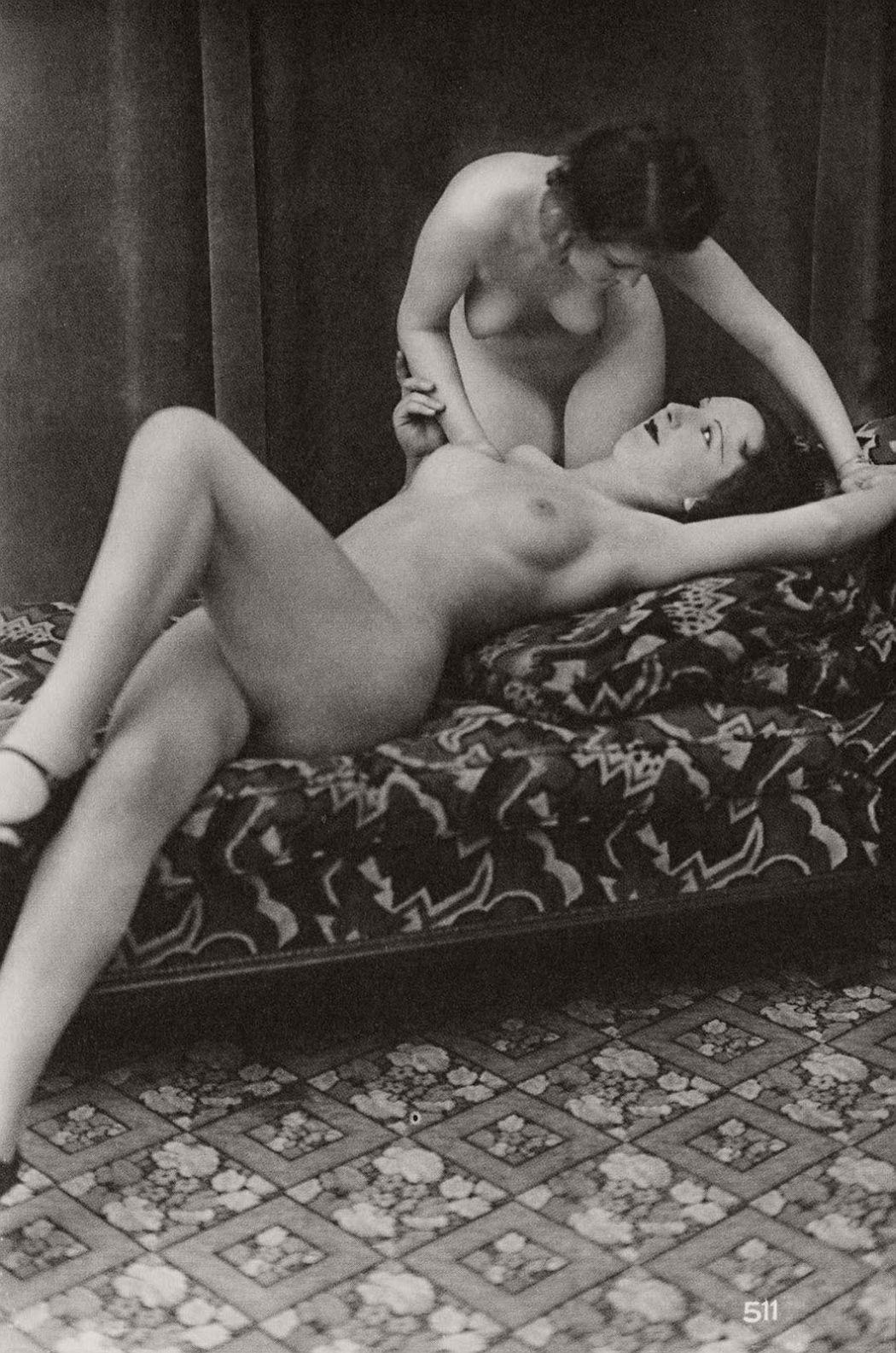 Klasične Vintage Lezbične Eroticanudes 1930S Monovision-1265