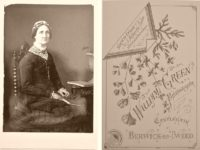 Historic 19th century Cabinet Card Portraits with reverse side (1870s to 1880s)