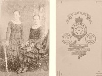Historic 19th century Cabinet Cards with reverse side (1870s to 1880s)