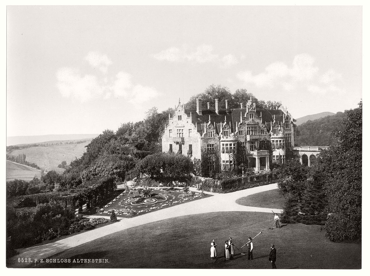 historic-bw-photo-german-Altenstein-Castle-12