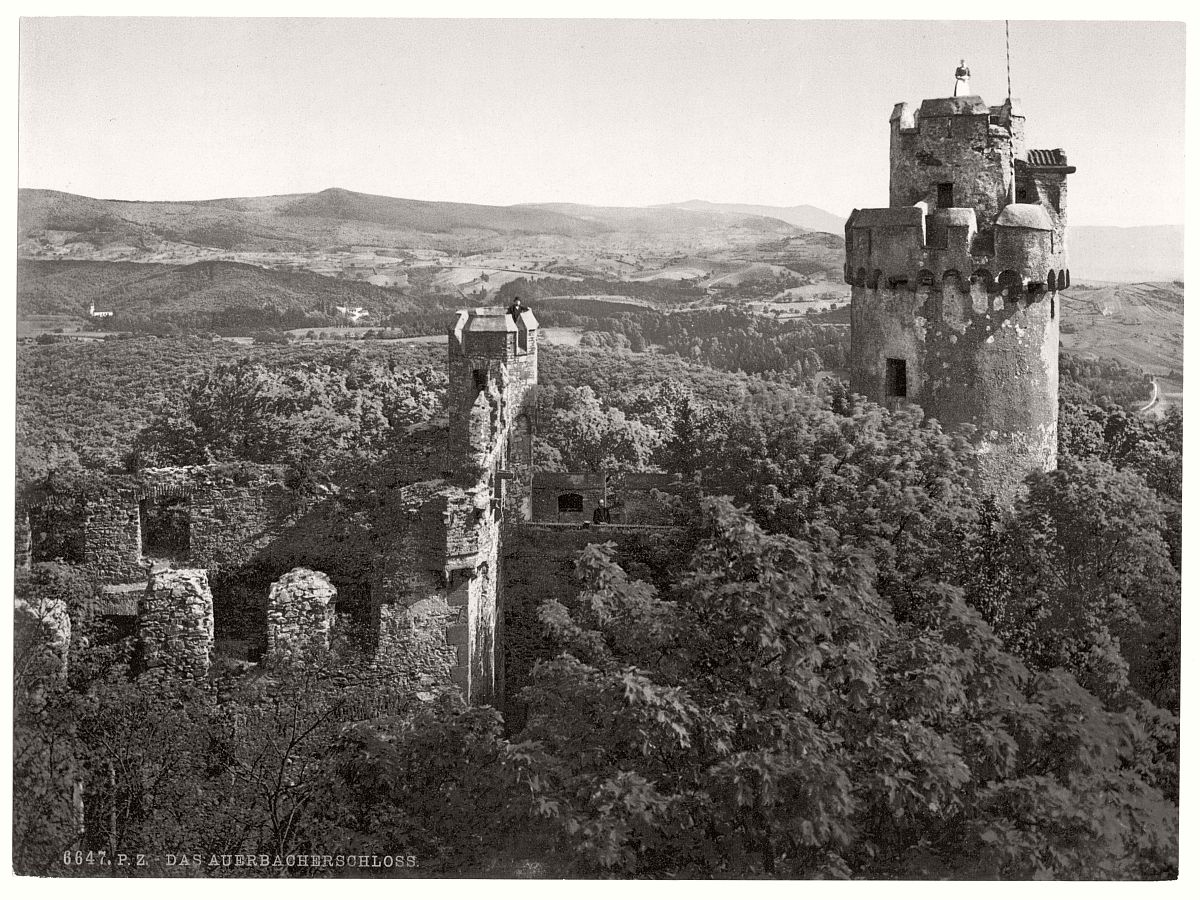 historic-bw-photo-german-Auerbach-castle-03