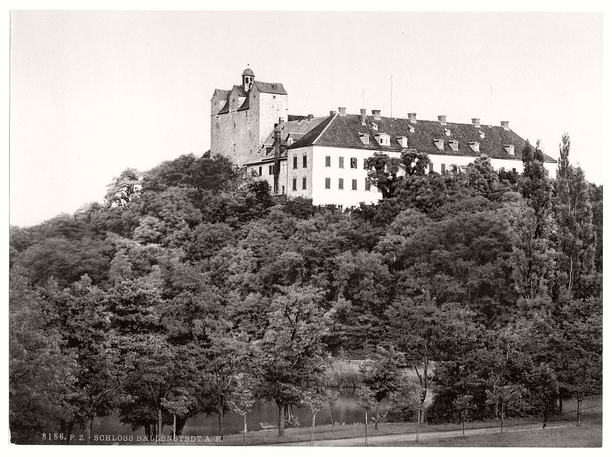 historic-bw-photo-german-Ballenstedt-castle-04