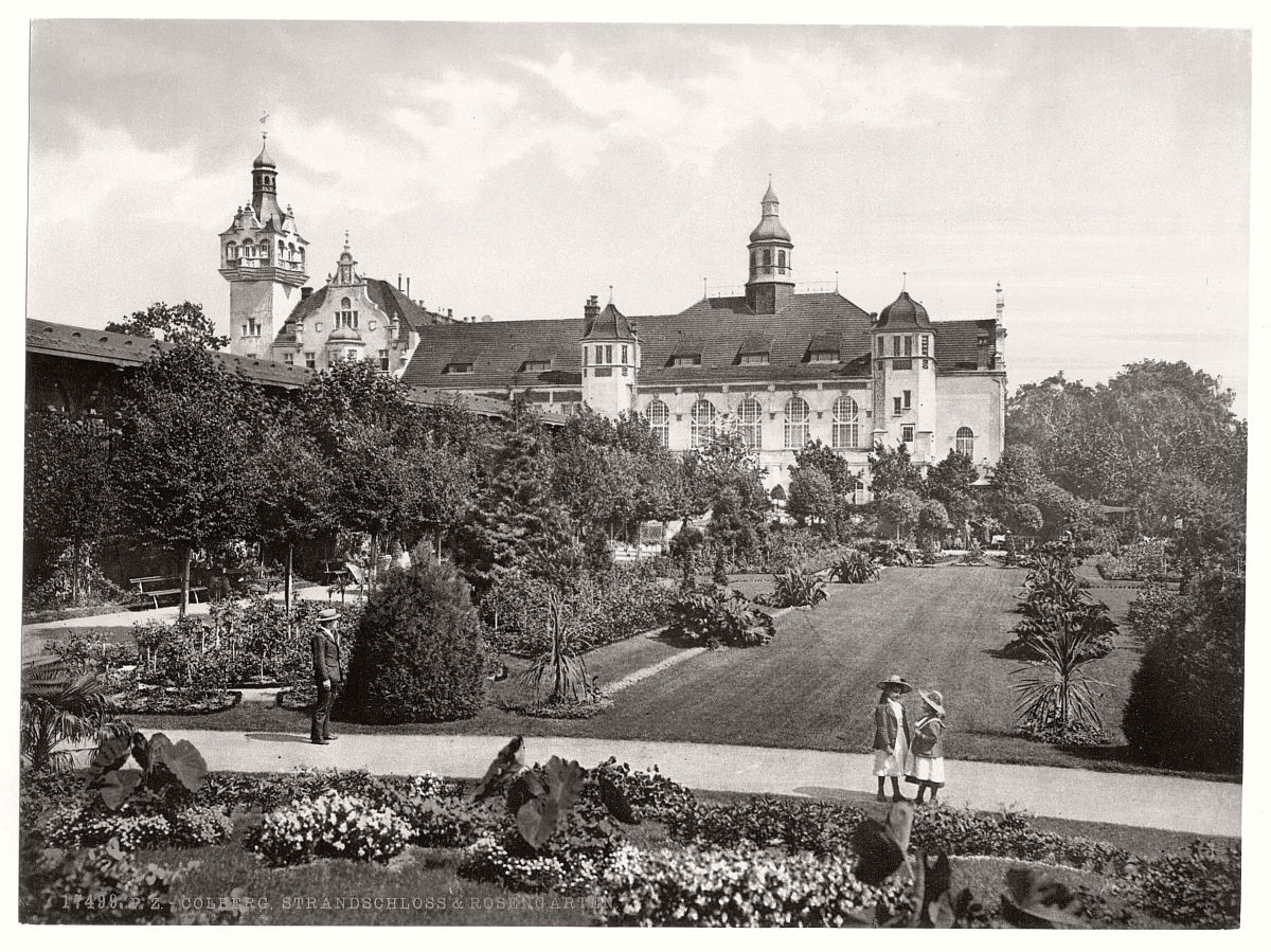 historic-bw-photo-german-Colberg-Pomerania-castle-13