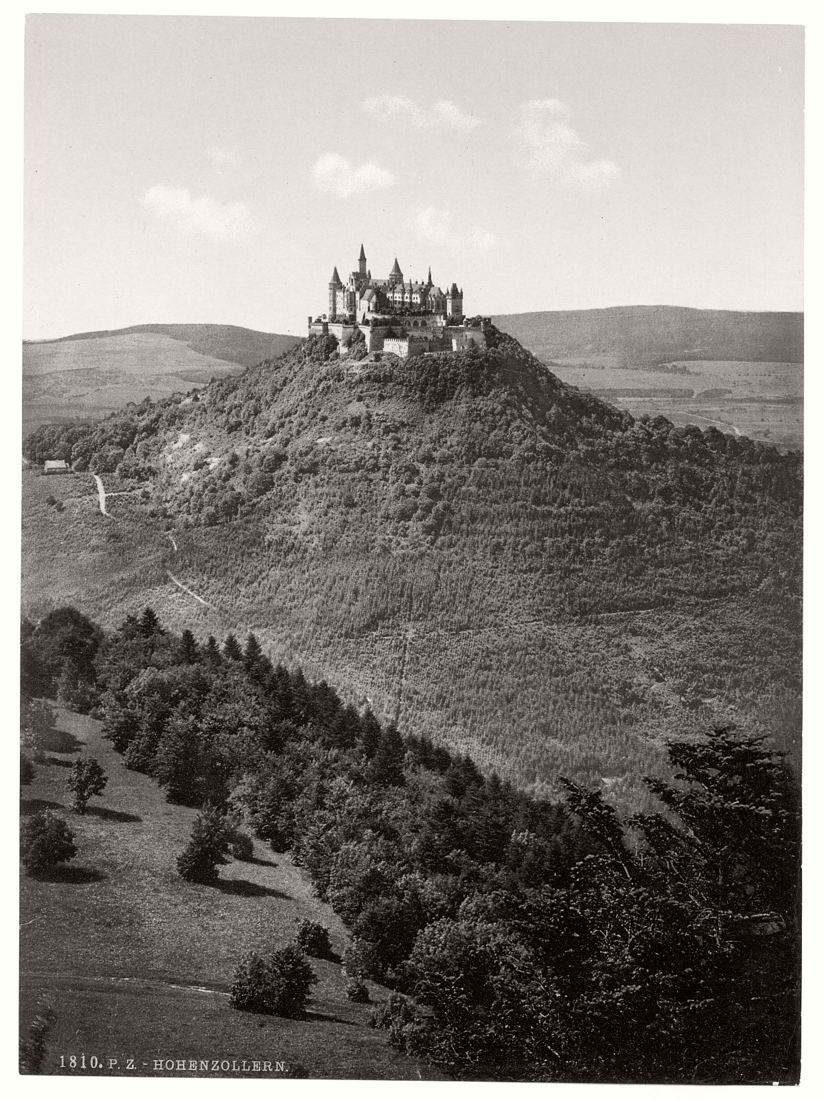 historic-bw-photo-german-Hohenzollern-castle-08