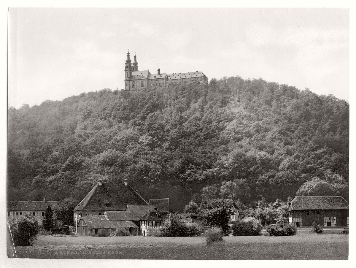 historic-bw-photo-german-Kloster-Banz-castle-01