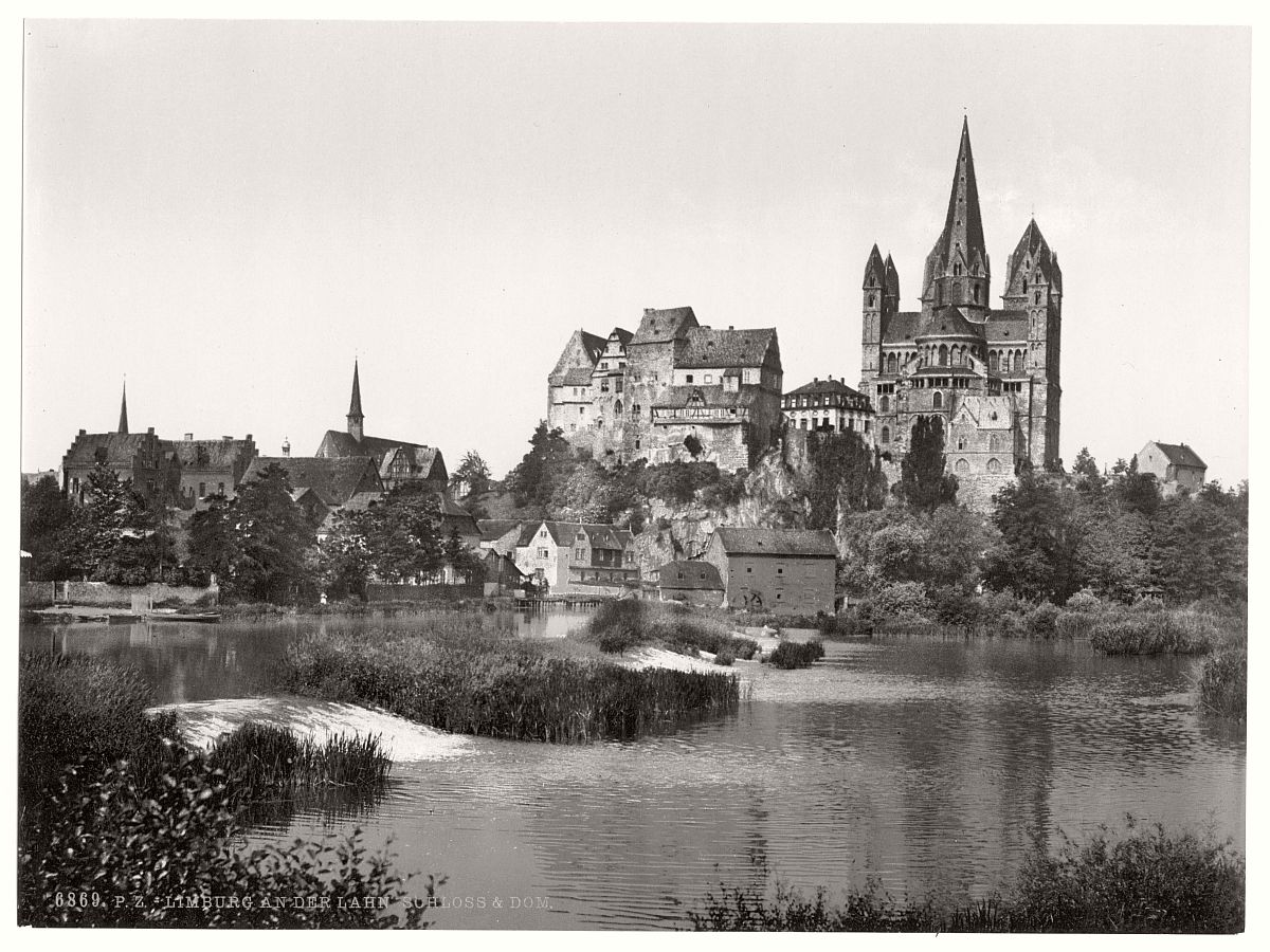 historic-bw-photo-german-Limburg-castle-10
