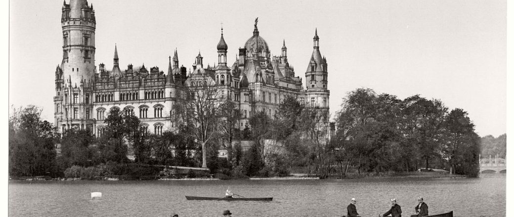 Vintage Black and White photos of German Castles