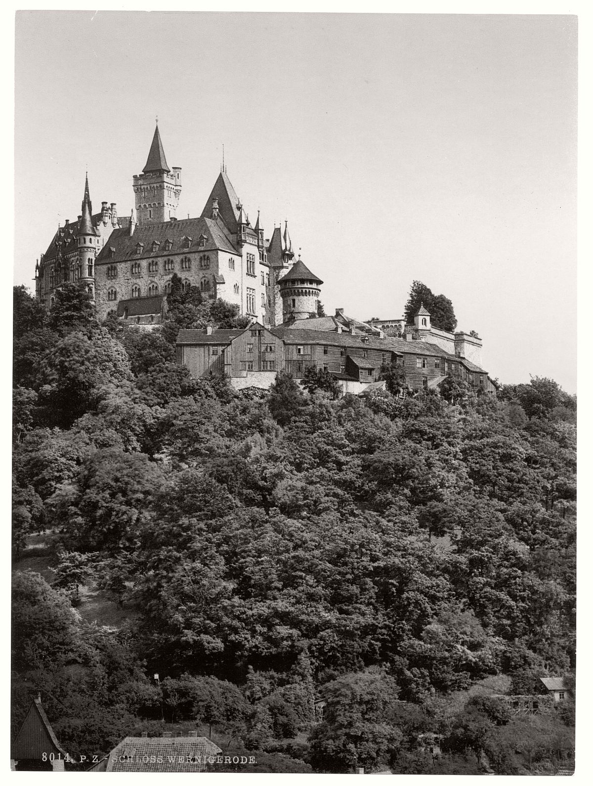 historic-bw-photo-german-Wernigerode-castle-07