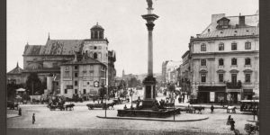 Historic B&W photos of Warsaw under Russian Partition in the 19th century