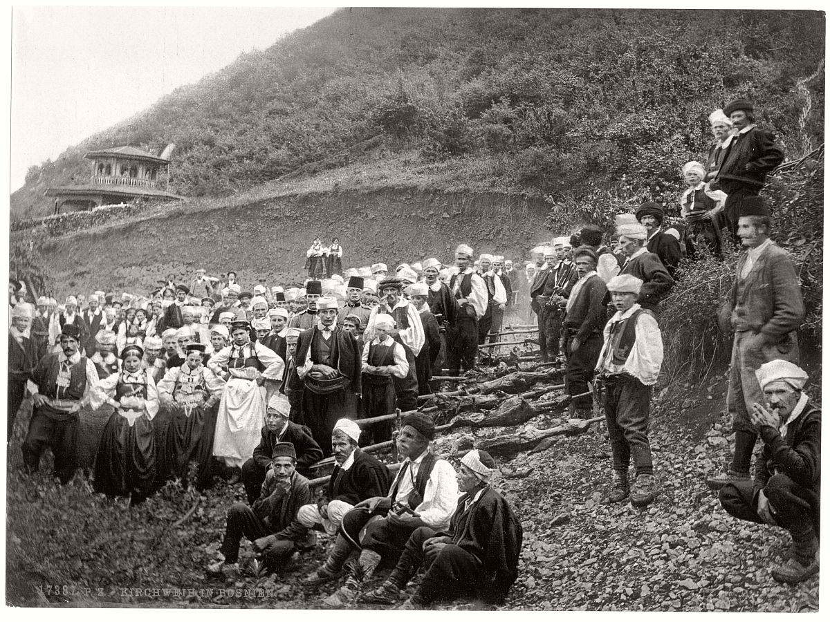 Historic B Amp W Photos Of Bosnia In 19th Century Monovisions