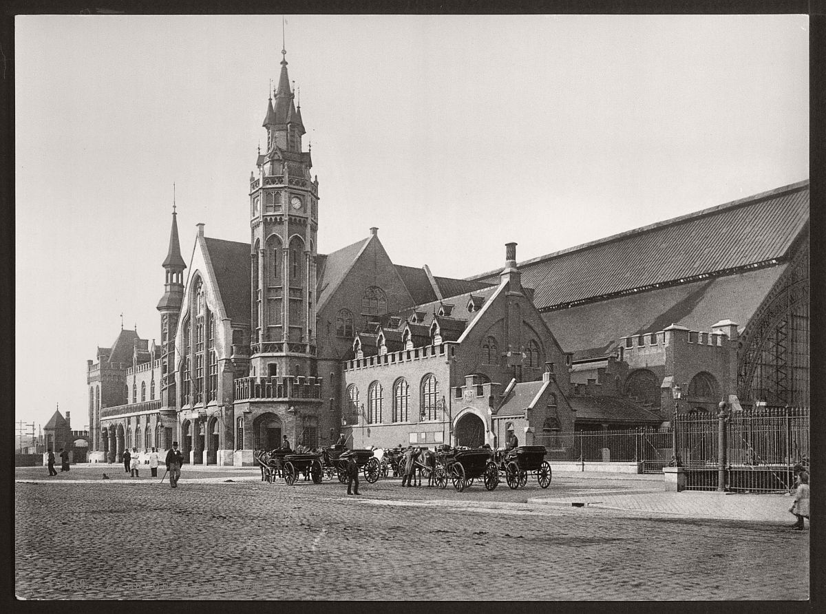 historic-bw-photos-of-bruges-belgium-in-19th-century-11