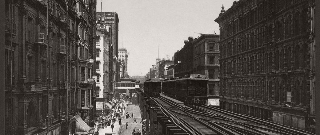 Historic B&W photos of Chicago (19th century)