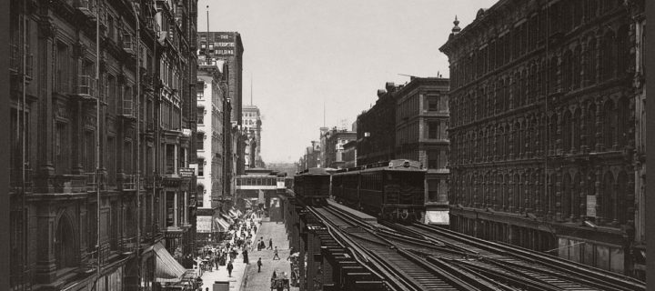Historic B&W photos of Chicago (19th century)