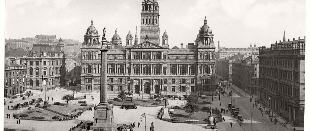 Historic B&W photos of Glasgow, Scotland (19th century)