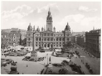 Historic B&W photos of Glasgow, Scotland (19th century)