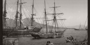 Historic B&W photos of Naples, Italy (19th century)