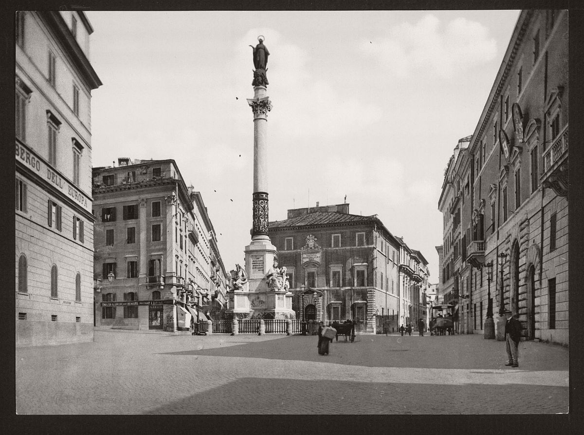 historic-bw-photos-of-rome-italy-in-the-19th-century-02