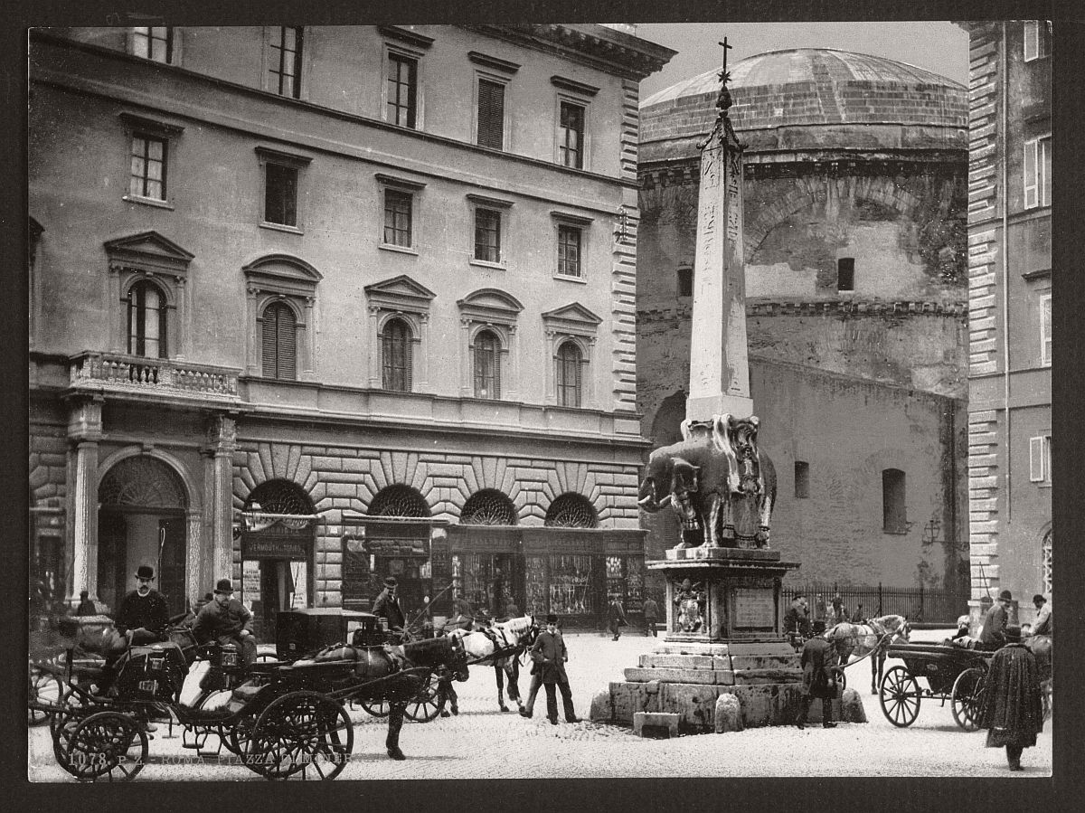historic-bw-photos-of-rome-italy-in-the-19th-century-22