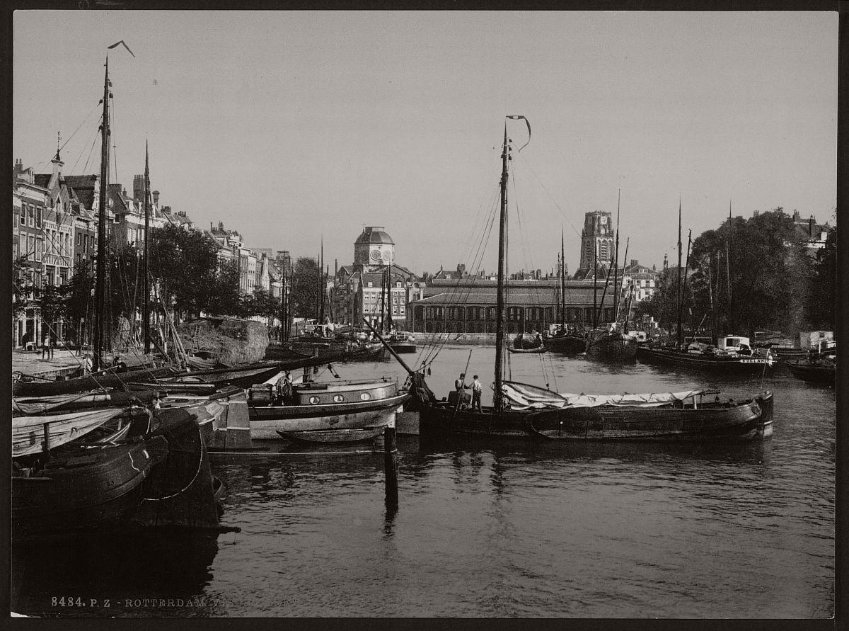 historic-bw-photos-of-rotterdam-holland-19th-century-02