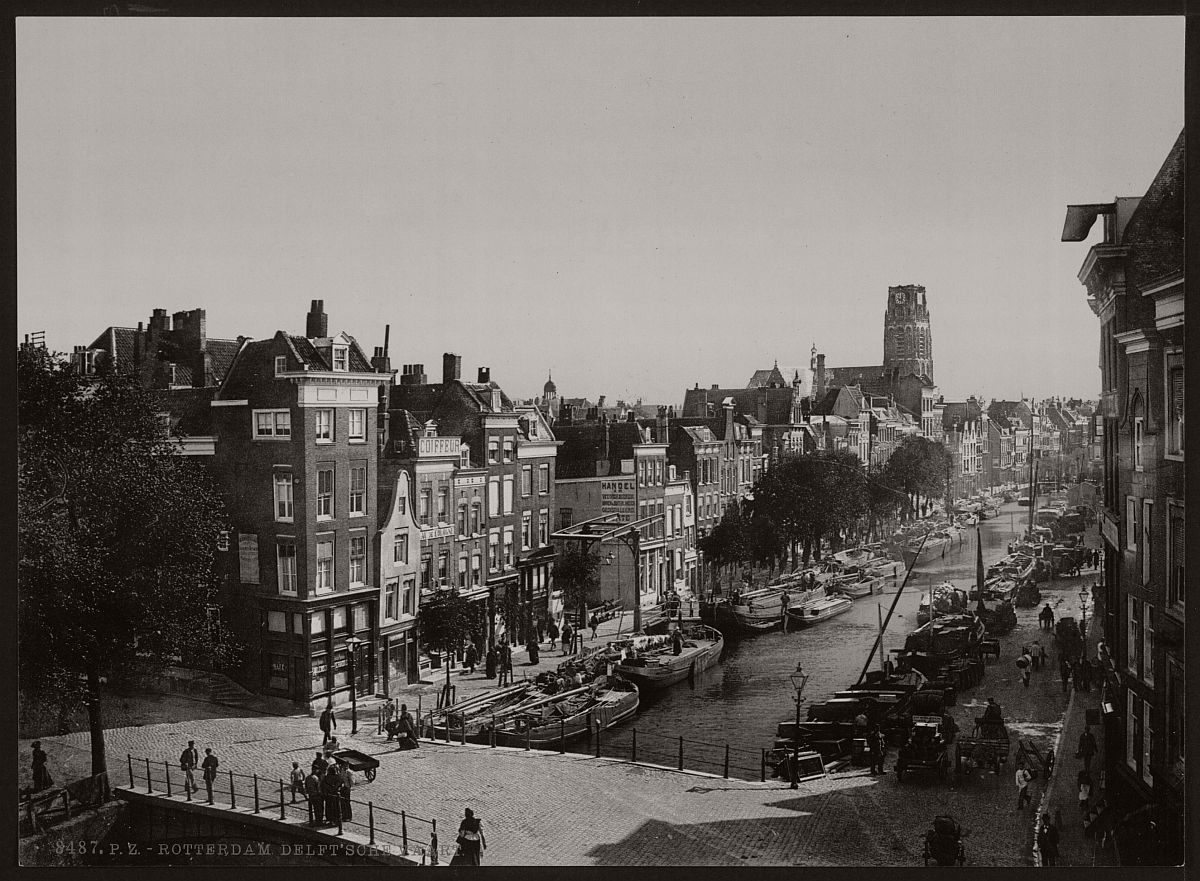 historic-bw-photos-of-rotterdam-holland-19th-century-14