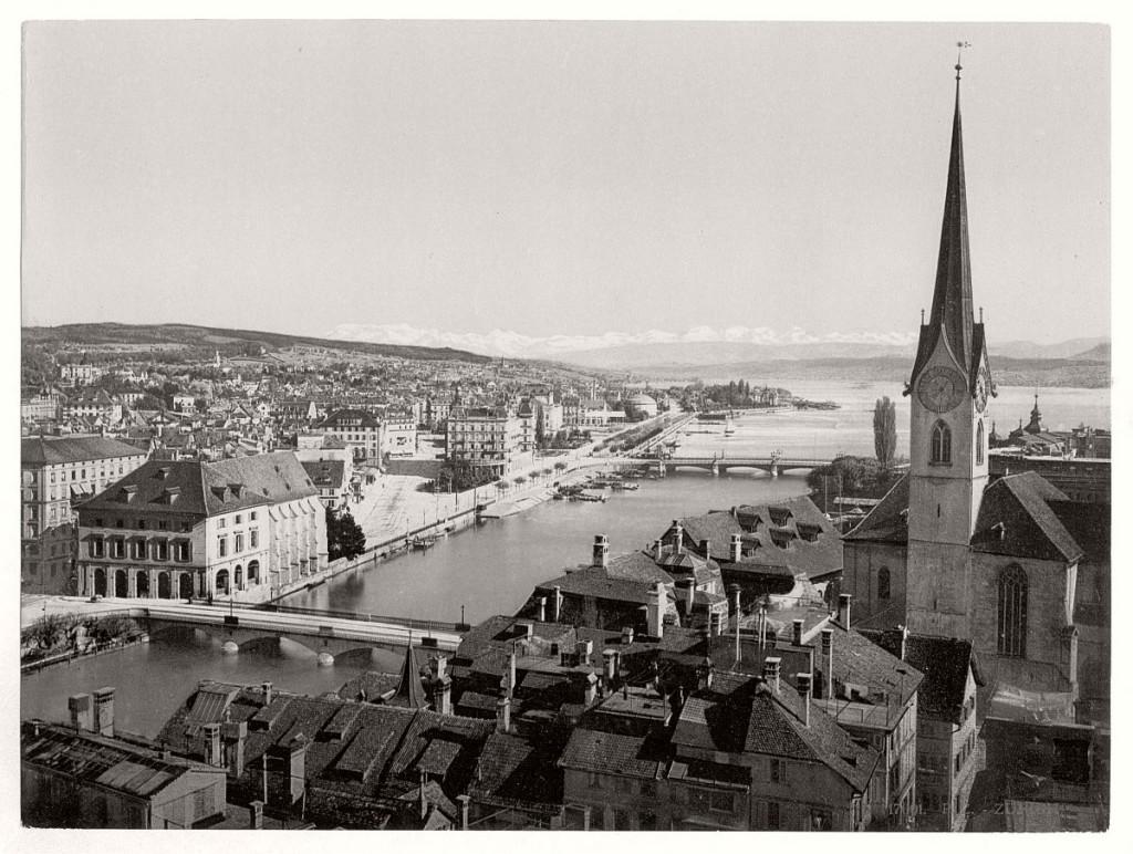Historic B&W photos of Zurich, Switzerland (19th century ...