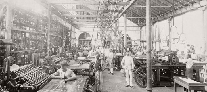 Historic photos of The Times of India in Mumbai (Bombay) in 1898