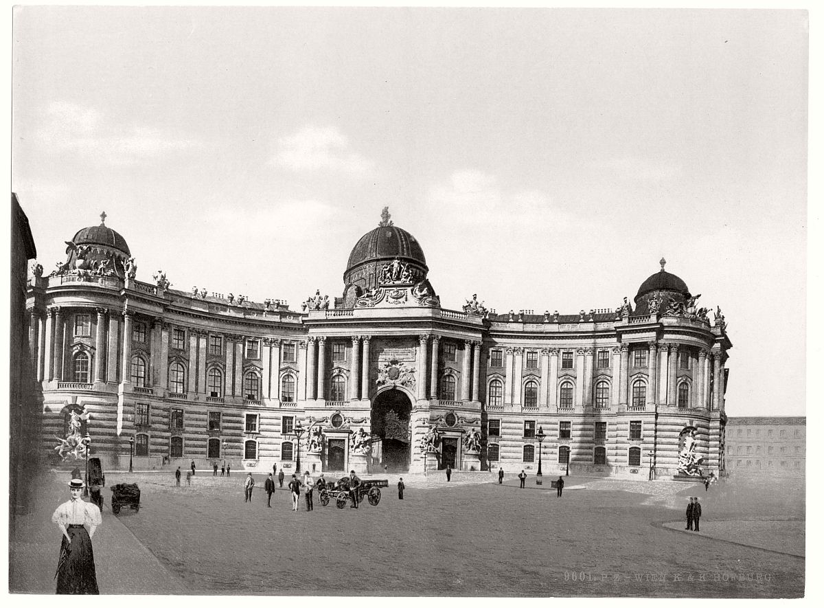 Historic B Amp W Photos Of Vienna Austro Hungary 19th