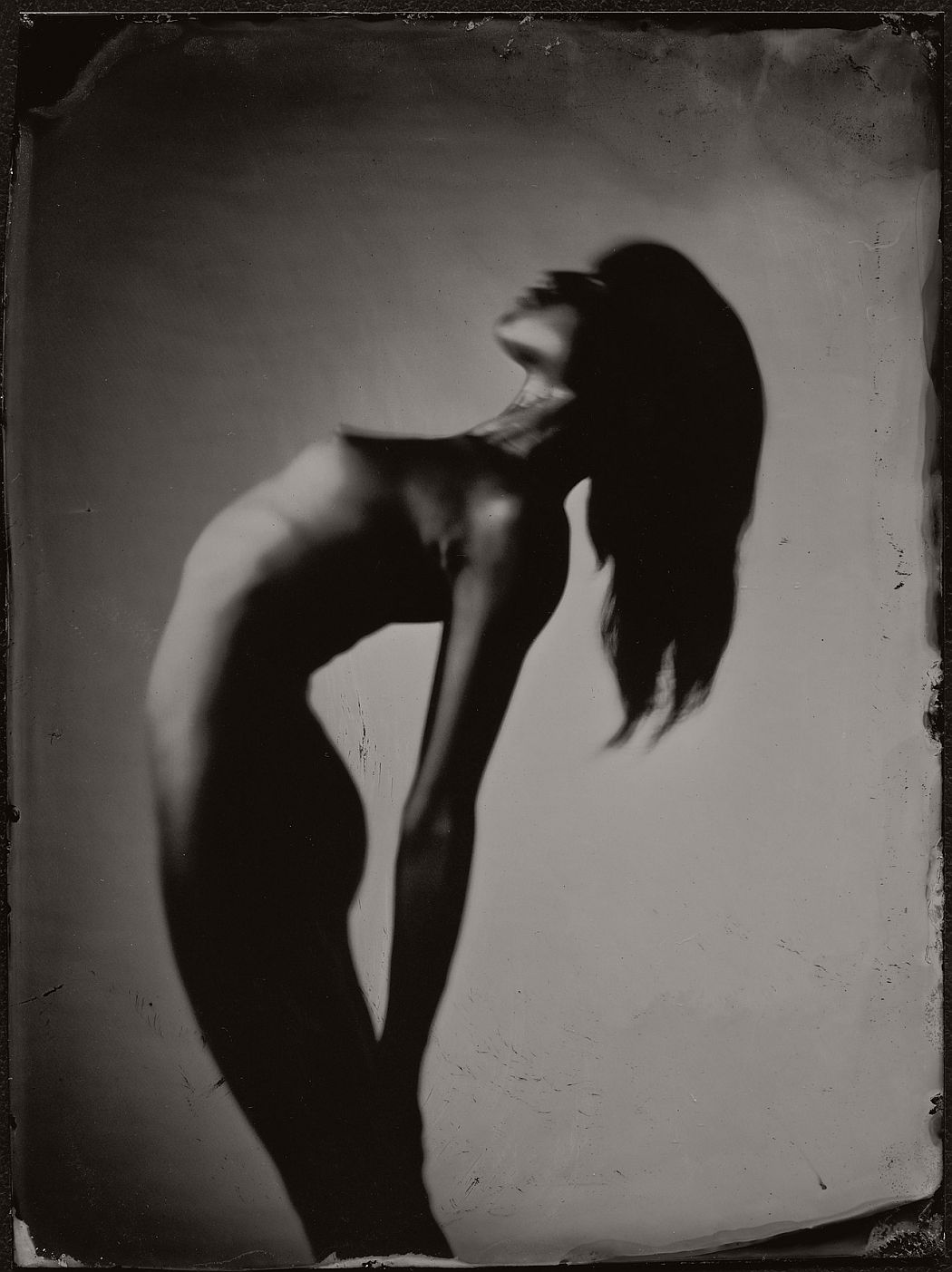 Nude Ambrotypes by James Weber