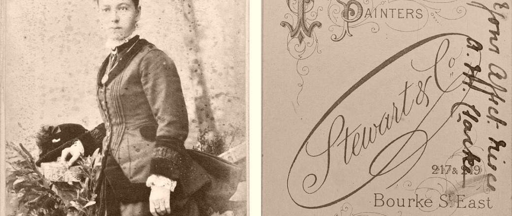 Victorian Era 19th century Cabinet Card Portraits with reverse side (1870s to 1880s)