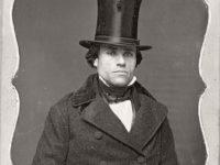 Victorian Era Daguerreotypes of Men in Hats (1850s)
