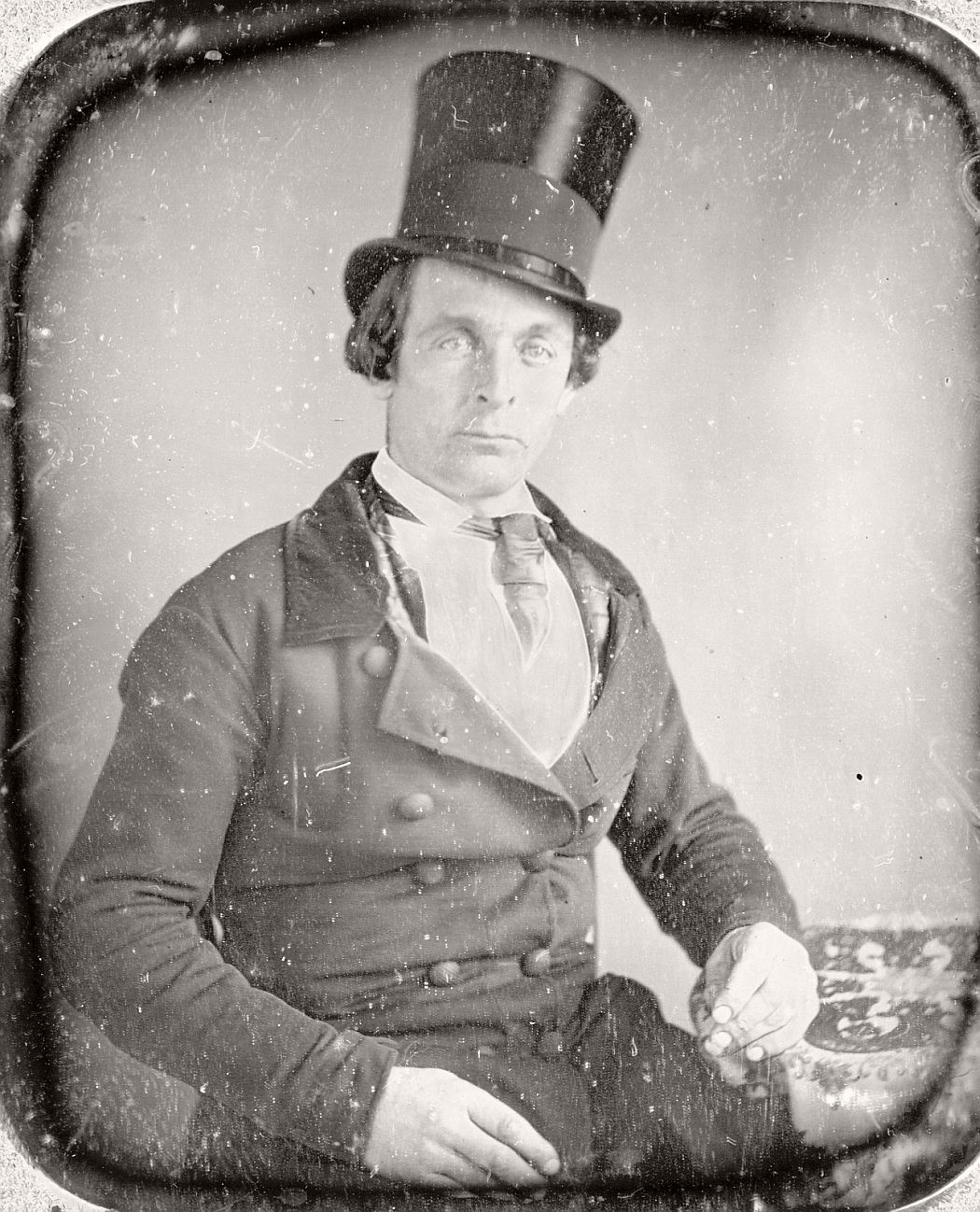 victorian-era-daguerreotype-of-men-in-hat-1850s-xix-century-20