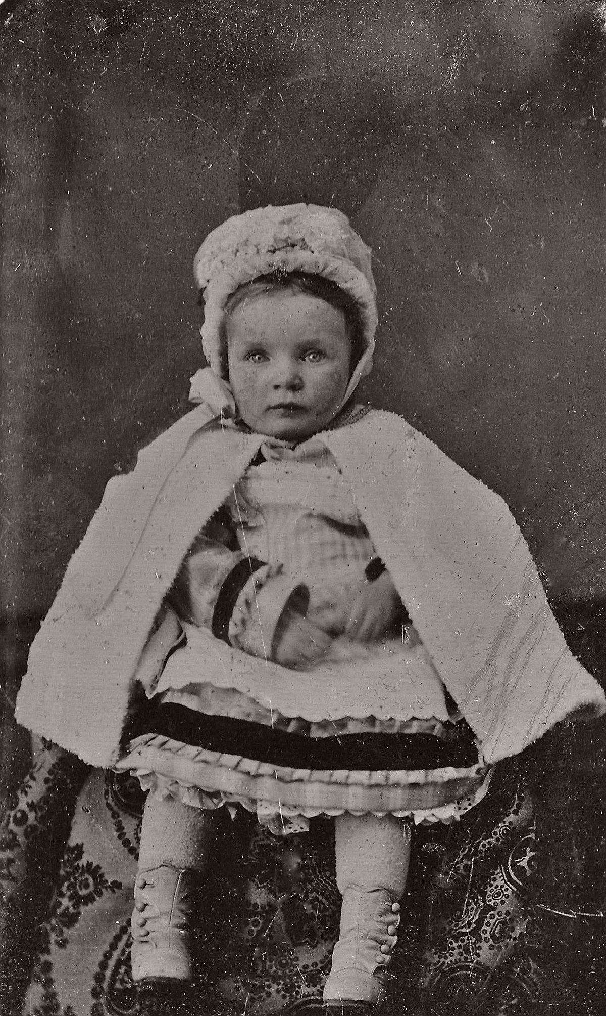 Victorian Era Tintype Portraits of Children (1870s and 1880s)