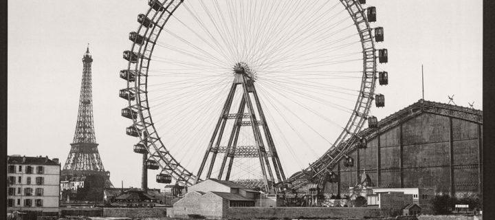 Vintage B&W photos of Paris, France (late 19th Century)