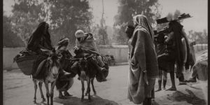 Historic B&W photos of Tunis, Tunisia, late 19th Century