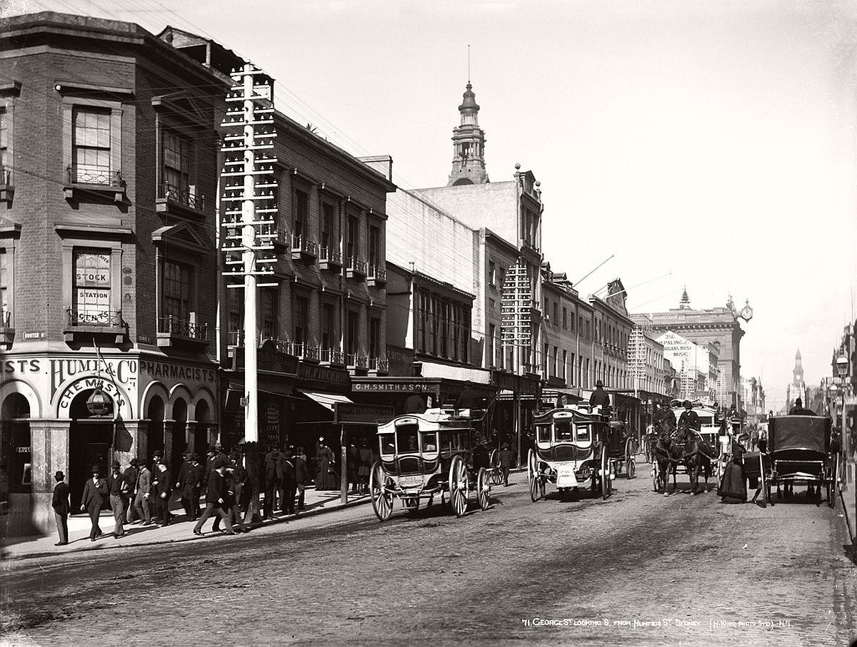 vintage-glass-plate-images-streets-sydney-city-australia-1900s-xix-century-01