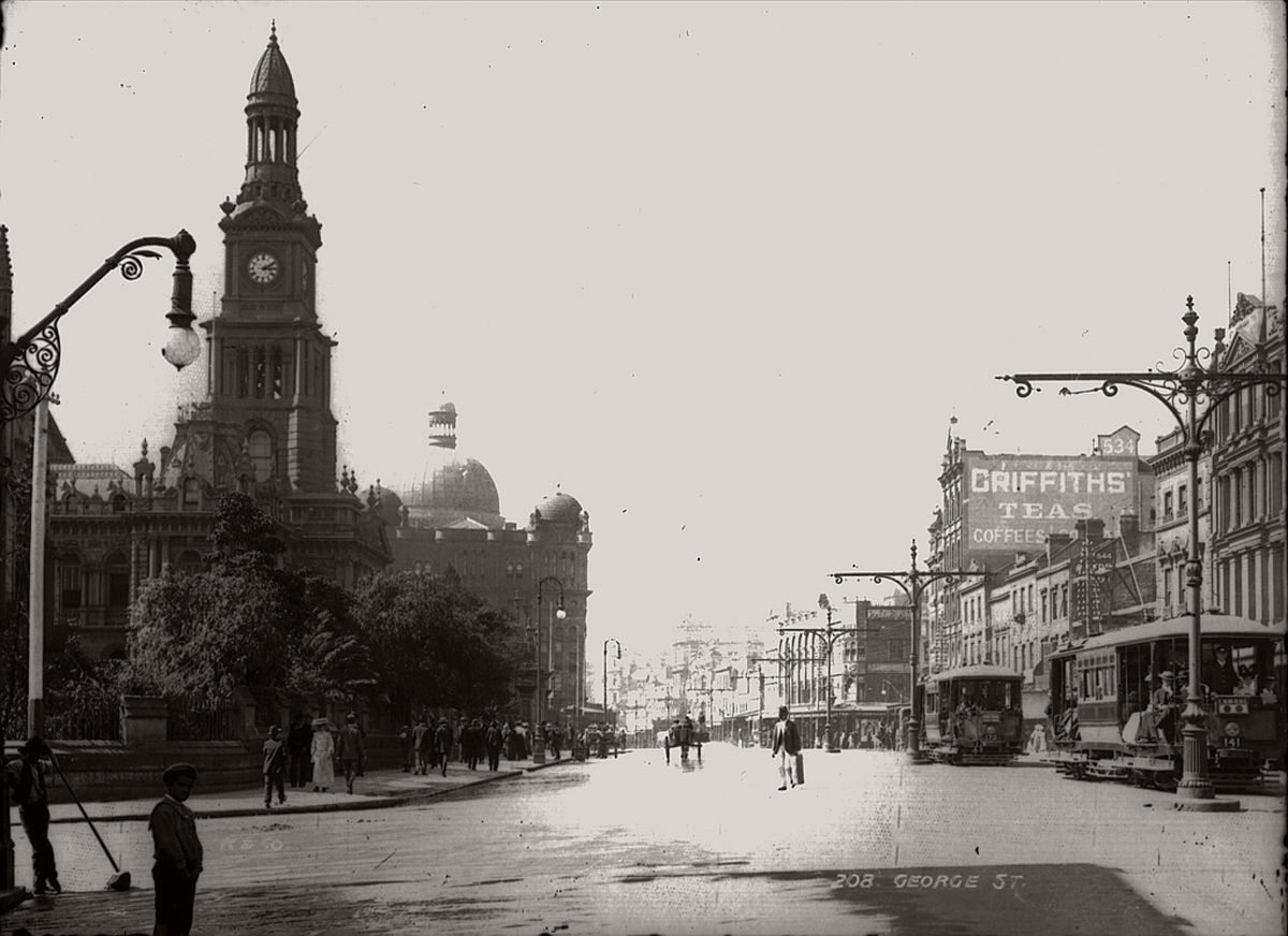 vintage-glass-plate-images-streets-sydney-city-australia-1900s-xix-century-101