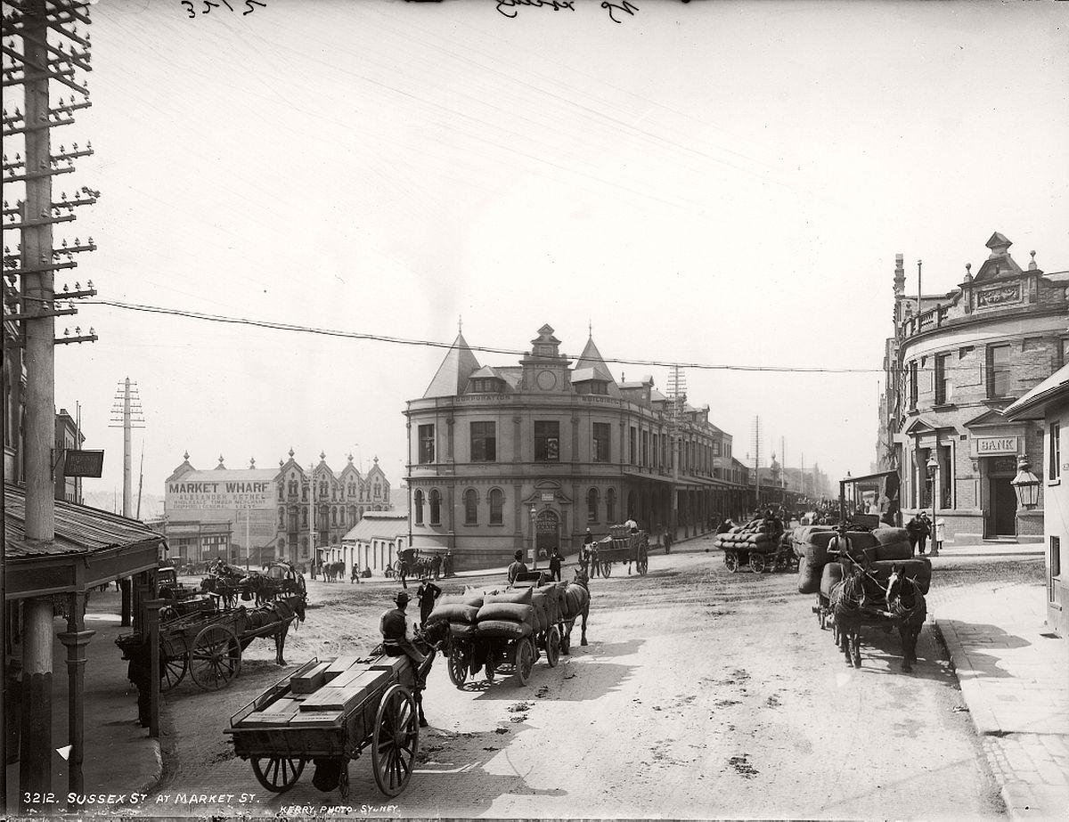 vintage-glass-plate-images-streets-sydney-city-australia-1900s-xix-century-321