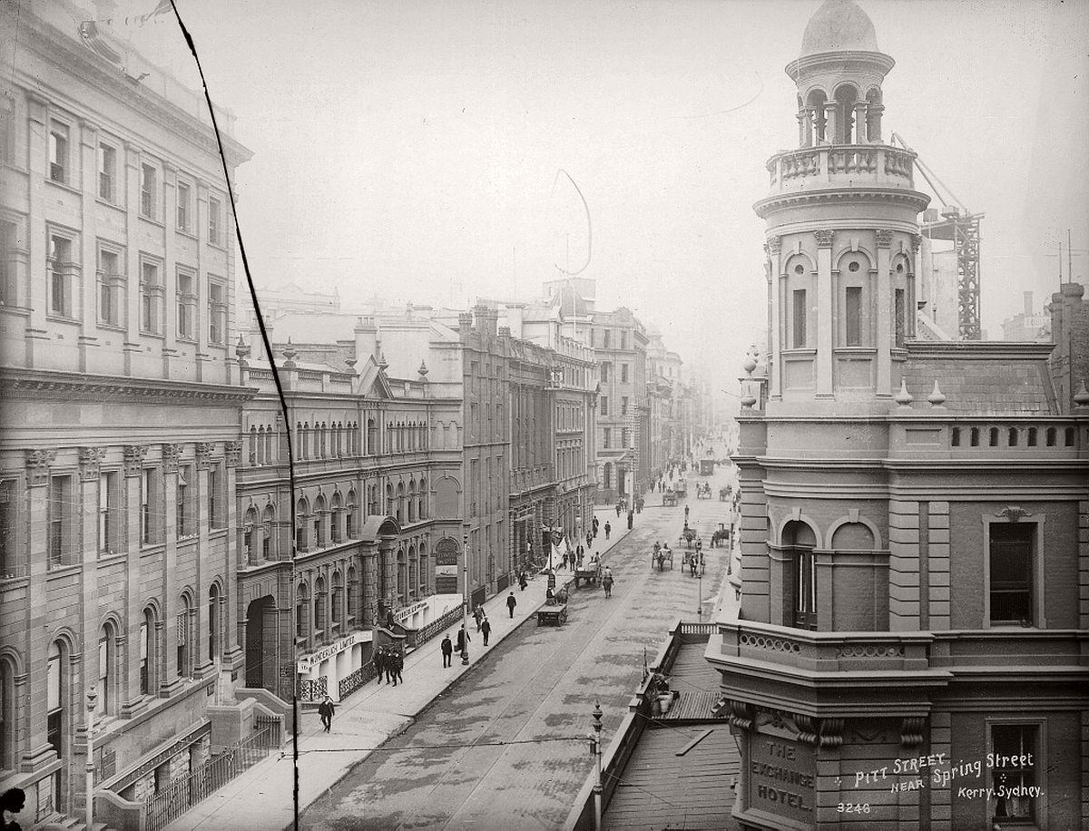 vintage-glass-plate-images-streets-sydney-city-australia-1900s-xix-century-341