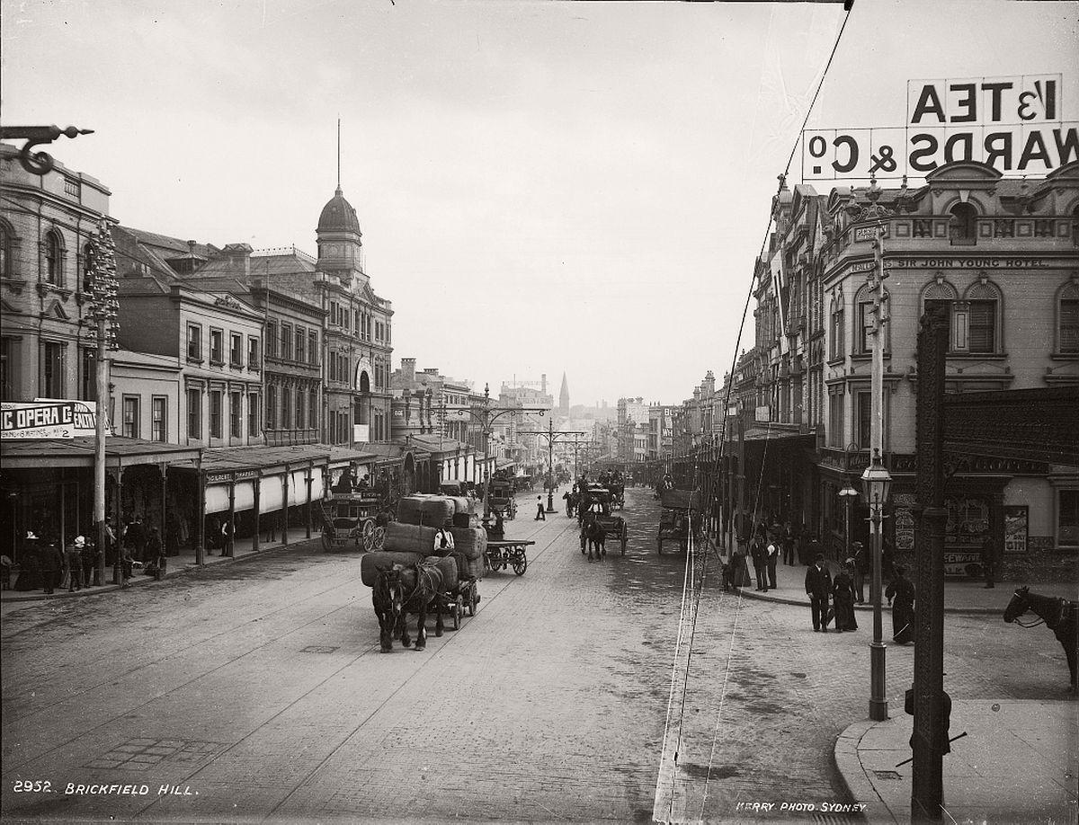 vintage-glass-plate-images-streets-sydney-city-australia-1900s-xix-century-511