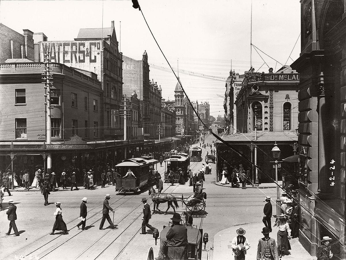 vintage-glass-plate-images-streets-sydney-city-australia-1900s-xix-century-61