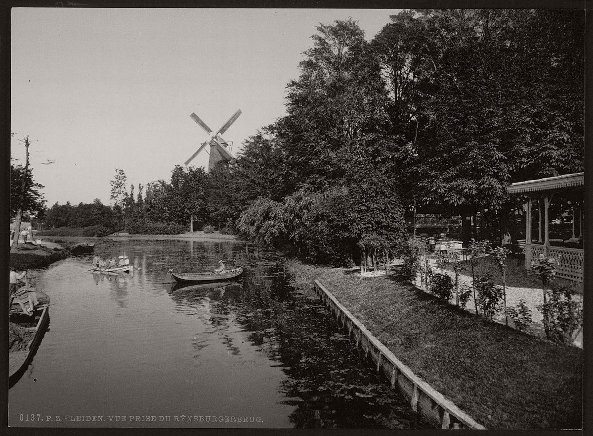 vintage-historic-bw-photos-of-dutch-windmills-in-19th-century-04