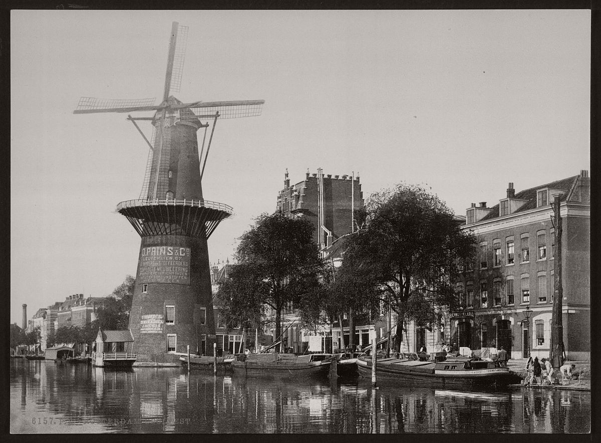 vintage-historic-bw-photos-of-dutch-windmills-in-19th-century-05