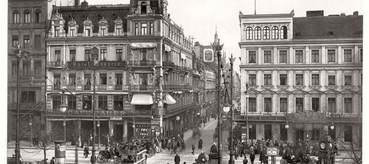 Historic B&W photos of Berlin, Germany (19th Century)