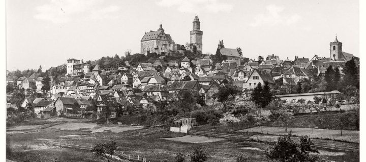 Vintage: historic photos of Frankfurt am Main, Germany in the late 19th Century