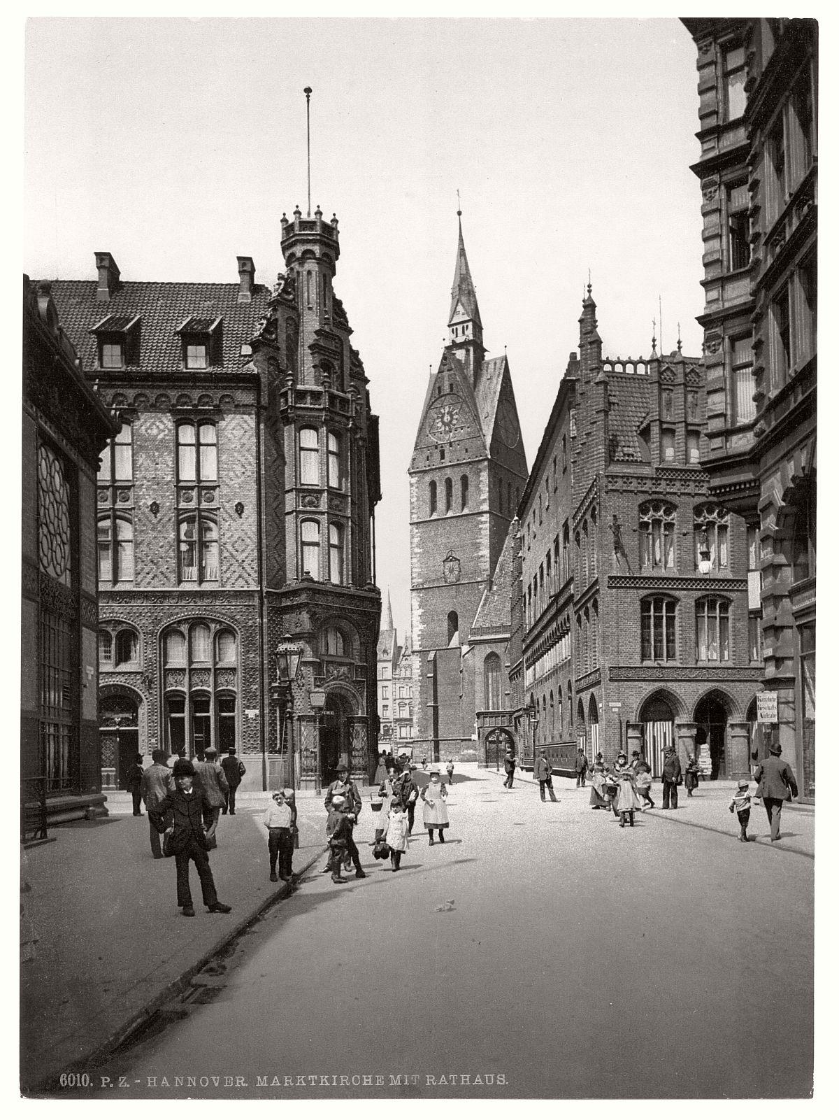 Historic B&W photos of Hanover, Germany (19th century ...