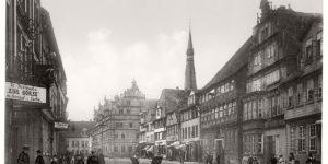 Historic B&W photos of Hanover, Germany (19th century)