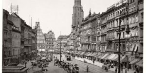 Vintage: historic views of Breslau in the late 19th Century