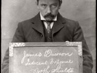 Vintage Mug Shot of criminals from North Shields (1902-1905)